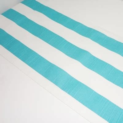 blue and white striped table runner blue white stripe table runner everything turquoise