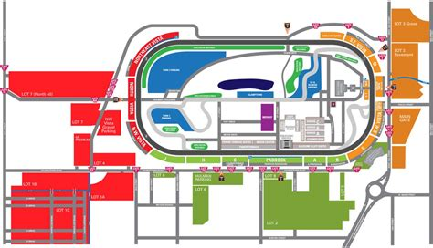 indy 500 map parking information for indy speedway