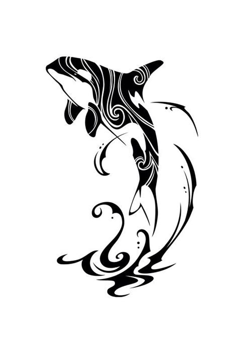 tribal whale tattoo tribal orca 2015 by takihisa on deviantart ideas