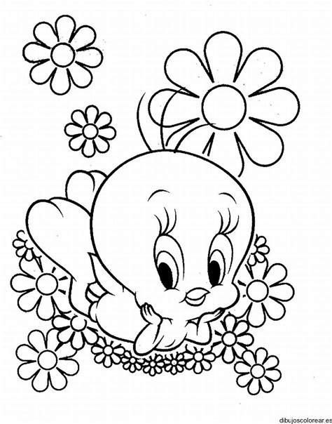 dibujos infantiles warner dibujo de piol 237 n entre las flores
