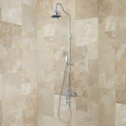 bathtub and shower faucets keswick exposed wall mount shower and tub faucet bathroom