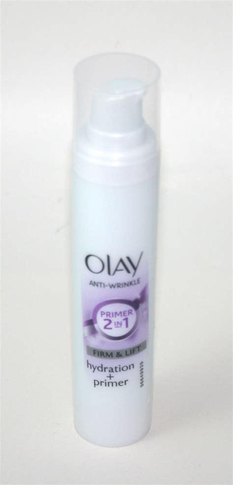 Olay Primer tuesday olay anti wrinkle firm lift moisturiser 2 in 1 hydration primer