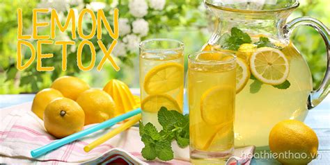 Detox With Lemon And Virginia by Giảm C 226 N An To 224 N V 224 Hiệu Quả Với Chương Tr 236 Nh Quot Lemon Detox Quot