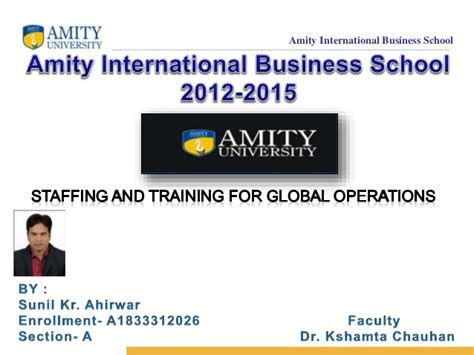 Mba Global Business Operations by Staffing For Global Operation