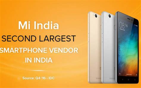 Sold Xiaomi Redmi 3s Second xiaomi sold 3 million units of redmi 3s redmi 3s in six months the indian express