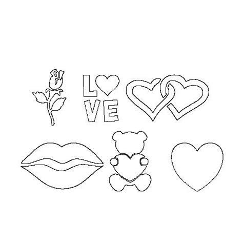 printable valentine stencils glittertoos com valentines