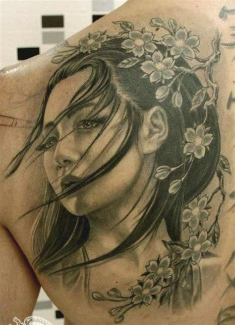 geisha girl tattoo on back 50 amazing geisha tattoos designs and ideas for men and women