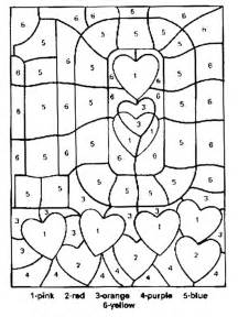 color by number sheets free printable color by number coloring pages best