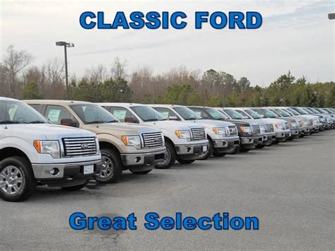 Ford Dealers In Nc Classic Ford Smithfield Nc 27577 Car Dealership And