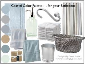 Best Home Interior Color Combinations coastal color palette spa bathroom colors donna frasca