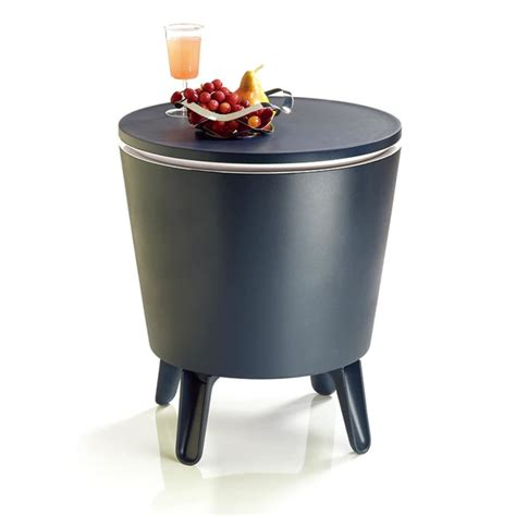 drink table bar keter cool stool outdoor cool bar garden drinks