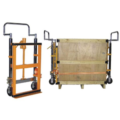 equipment mover roller dollies hydraulic raise roll