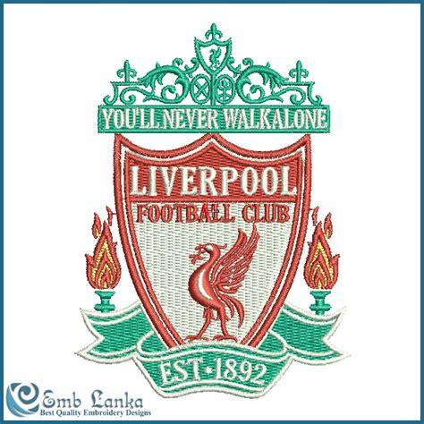 Design Custom Liverpool Fc 016 liverpool football club embroidery design emblanka