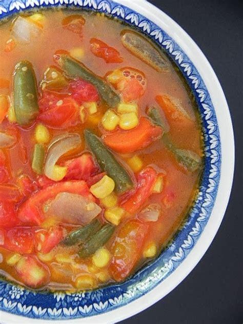 tomato garden vegetable soup my five fresh tomato vegetable soup