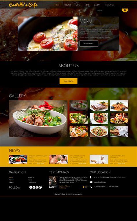 joomla templates for restaurants your restaurant joomla template 49096
