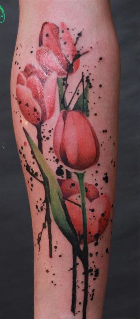 tulips tattoo 50 tulip design ideas nenuno creative