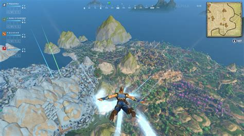 realm royale is like fortnite mixed with world of warcraft