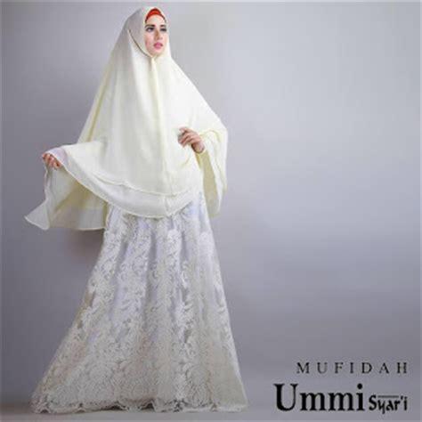 Gamis Syari Brokat Kombinasi Jual Model Gaun Baju Gamis Brokat Mufidah Syari By Ummi