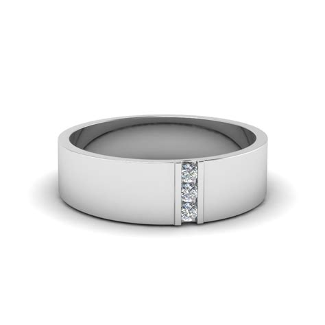 white gold mens wedding bands fascinating diamonds