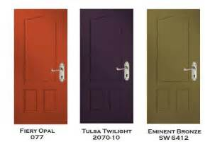 exterior door colors three exterior door color prescriptions from