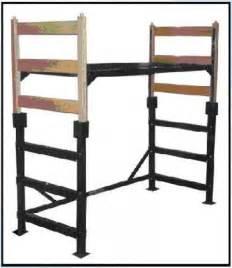 Metal platform loft conversion kit twin full size bed steel frame dorm