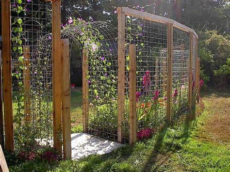 10 Ft Trellis Tina S Terrific Trellis Fence Flea Market Gardening