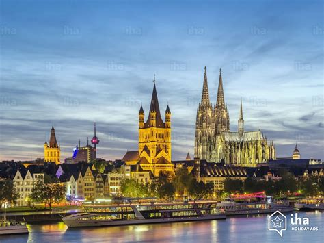 cologne rentals in a guest house for your holidays with iha