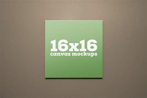 canva mockup 16x16 square canvas mockups product mockups on creative