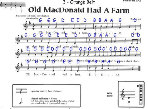 Recorder Notices Macdonald Had A Farm Recorder Notes Book Covers