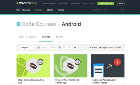 free paid android the best free and paid android app development courses pyntax
