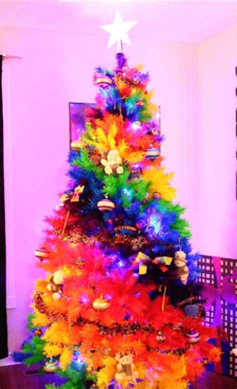 rainbow christmas tree angel  rainbow christmas tree rainbows christmas holiday tree