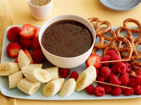 ina garten chocolate fondue chocolate fondue recipe alex guarnaschelli food network