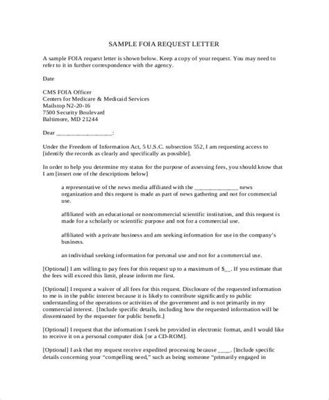 sample formal request letter templates