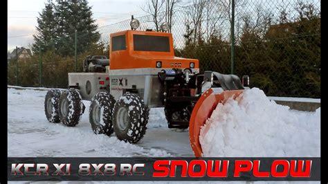 rc snow plow scale  ktr   roboplow youtube