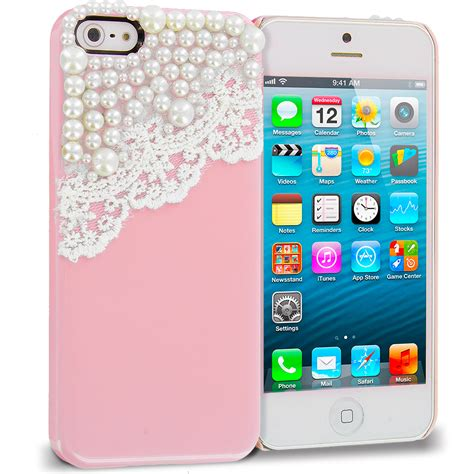 Casing Handphone Iphone 5 5s 3d Bowknot Lucky Cat Kartun Soft Silikon for apple iphone 5 5s lace bow pearls 3d cover pink ebay