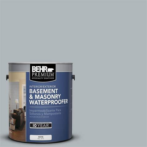 behr premium 1 gal bw 56 silver jade basement and