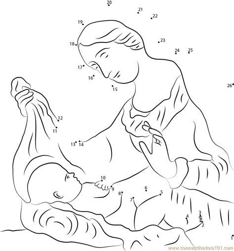 dot to dot jesus printables birth of jesus christ celebrations on christmas dot to dot