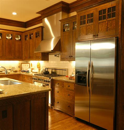 Arts And Craft Kitchen Cabinets Arts Crafts Kitchen Heussner Residence 3