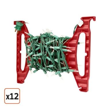 wrap n roll christmas light storage justplasticboxes com rolls out new line of christmas
