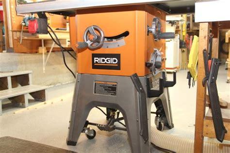 Ridgid 10 Inch 13 Amp Table Saw R4512 A Concord Carpenter