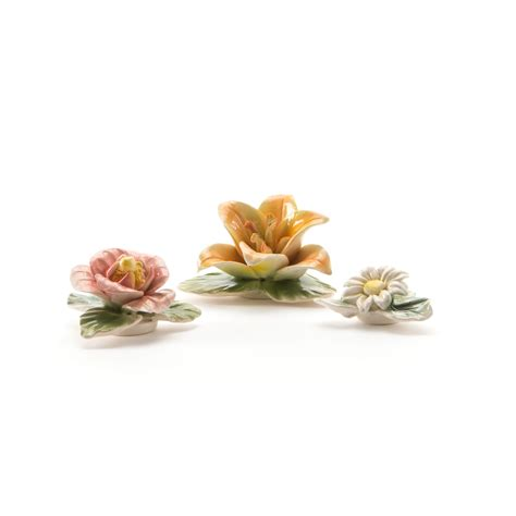 Flower Set 3 flower attitude the magnets set of 3 2 seletti