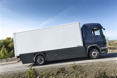 scania truck scania testing electric big rig truck with conductive and