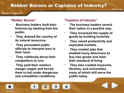 Captains Of Industry Essay exle about captains of industry essay