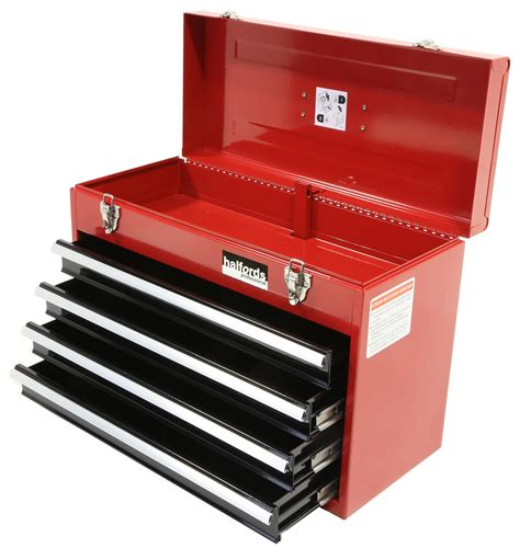 4 Drawer Tool Chest by Halfords Professional Tool Chest 4 Drawer Metal