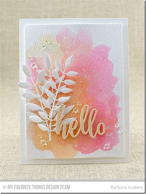 Make Watercolor Paper - 25 best ideas about watercolor cards on easy
