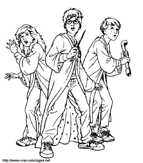 harry potter ron and hermione coloring pages 26 dessins de coloriage harry potter 224 imprimer