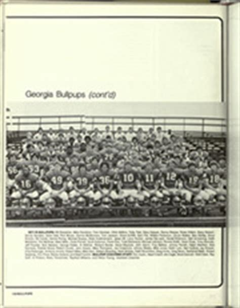 tom jackson athens ga university of georgia pandora yearbook athens ga