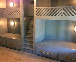 Diy Built In Bunk Beds Built In Bunk Beds I Shall Build A Cottage
