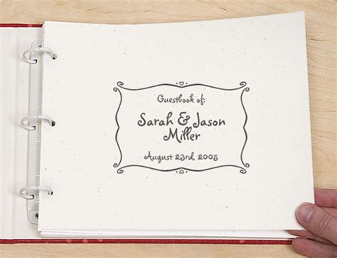 Wedding Guest Book Cover Page by Wedding Dress Story Wedding Guest Book Cover Page