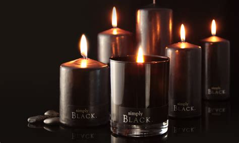 Black Candles Simply Black Candles
